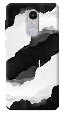 Black Isolation Xiaomi Redmi Note 4 Case
