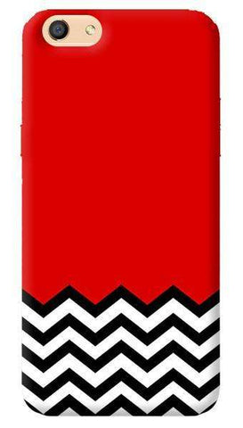 Black Lodge Chevron Oppo F1s Case