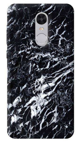 Black Marble Xiaomi Redmi Note 4 Case