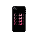 Blah Apple iPhone 4/4S Case