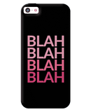 Blah Apple iPhone 5C Case