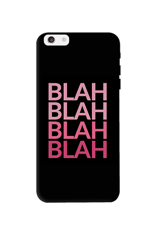 Blah Apple iPhone 6 Plus Case