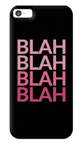 Blah iPhone 5/5S Case