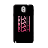 Blah Samsung Galaxy Note 3 Case