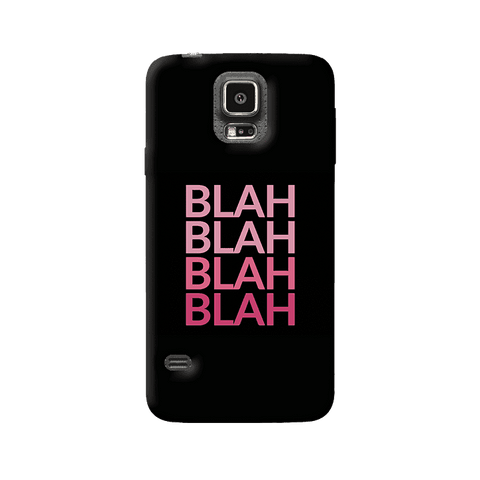 Blah Samsung Galaxy S5 Case