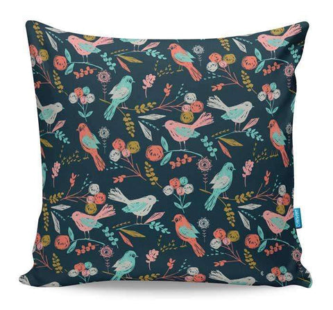Bloom Birds Cushion Cover