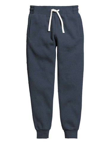 Blue Melange Men's Sweatpants