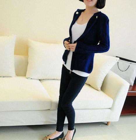 Blue Woolen Jacket