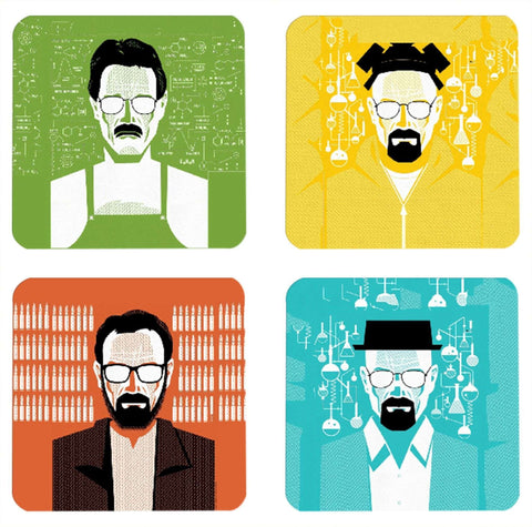 Breaking Bad Coasters