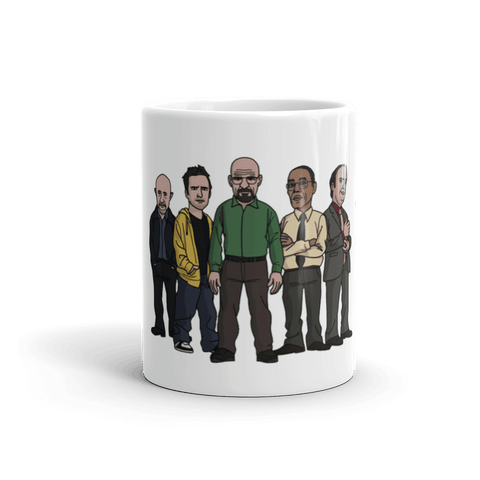 Breaking Bad Gang Coffee Mug