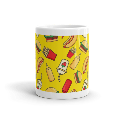 Burger & Fries Coffee Mug