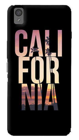 California  Oneplus X Case