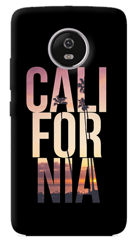 California Motorola Moto G5 Plus Case