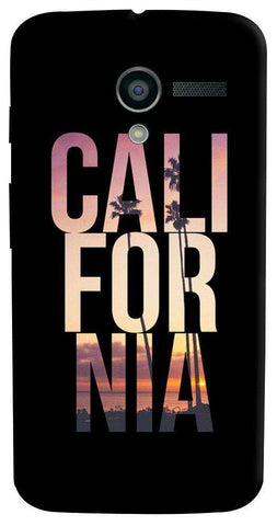 California Motorola Moto X Case