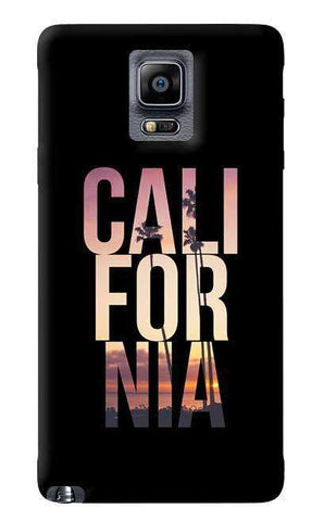 California Samsung Galaxy Note 4 Case