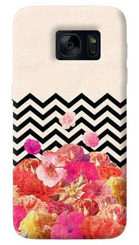 Chevron  Floral   Samsung Galaxy S7 Edge Case