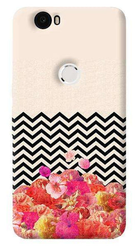 Chevron Floral   Nexus 6P Case