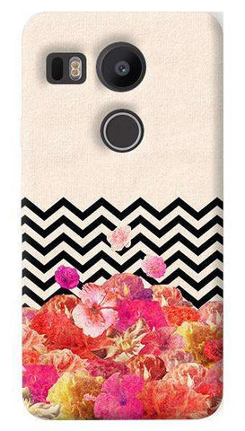Chevron Floral  Nexus 5X Case