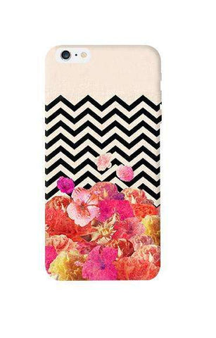 Chevron Floral Apple iPhone 6 Plus Case