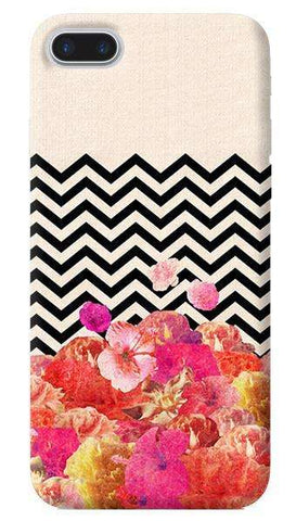 Chevron Floral Apple iPhone 7 Plus Case