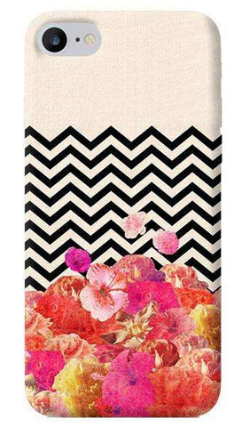 Chevron Floral iPhone 7 Case