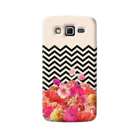 Chevron Floral Samsung Galaxy Grand 2 Case