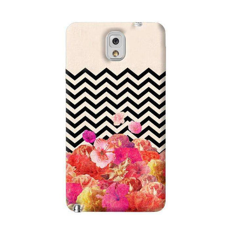 Chevron Floral Samsung Galaxy Note 3 Case