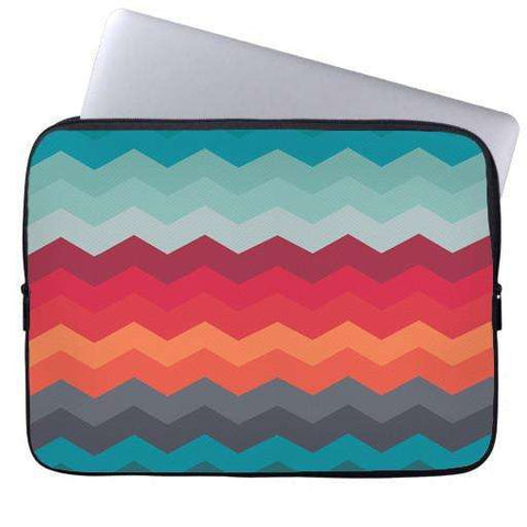 Chevron Levels Laptop Sleeve