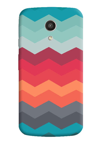 Chevron Levels Moto G 2nd Gen Case