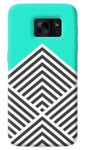 Chevron Mint   Samsung Galaxy S7 Case