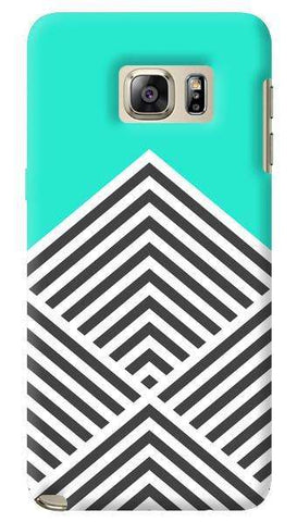 Chevron Mint  Samsung Galaxy Note 5 Case