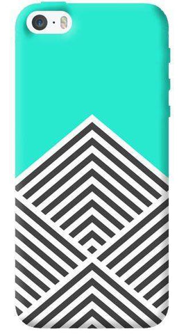Chevron Mint Apple iPhone 5C Case