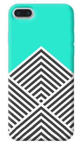 Chevron Mint Apple iPhone 7 Plus Case