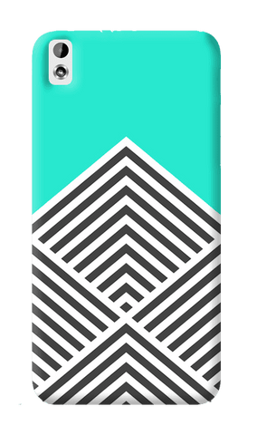 Chevron Mint HTC Desire 816 Case