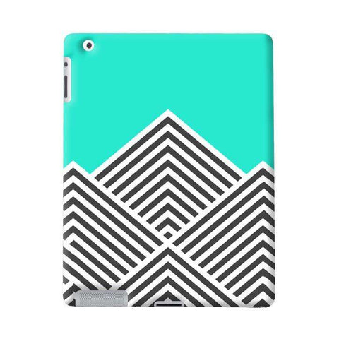 Chevron Mint iPad Apple Case