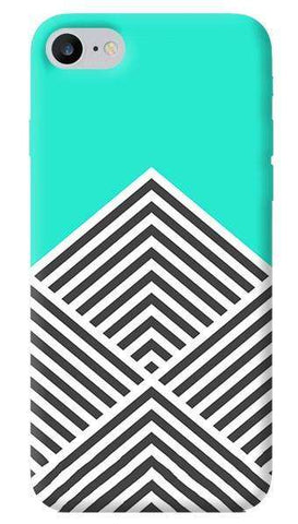 Chevron Mint iPhone 7 Case