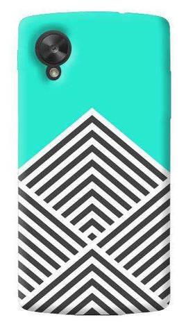 Chevron Mint LG Nexus 5 Case