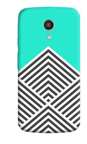 Chevron Mint Motorola Moto G 2nd Gen Case