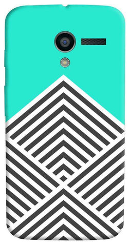 Chevron Mint Motorola Moto X Case