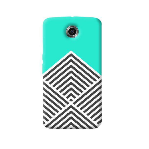 Chevron Mint Nexus 6 Case