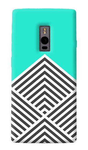 Chevron Mint OnePlus Two Case