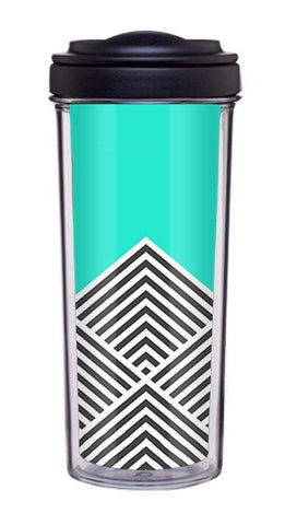 Chevron Mint Tumbler