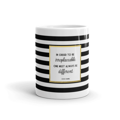 Coco Chanel Quote Coffee Mug