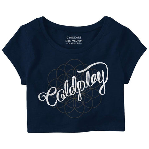 Coldplay Crop Top