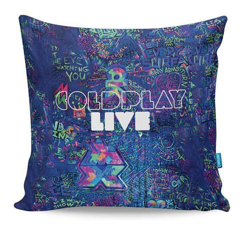 Coldplay Live Cushion Cover