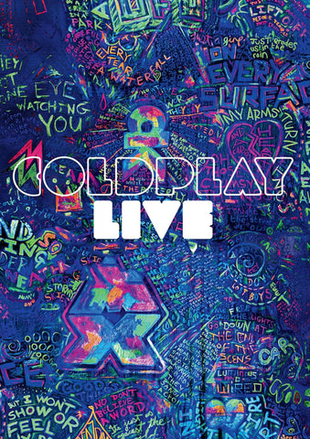 Coldplay Live Poster