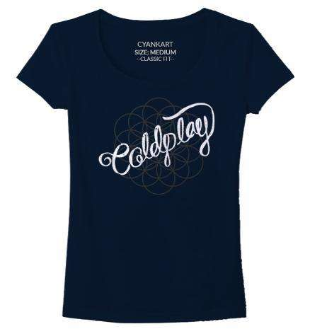 Coldplay Women's T-Shirt