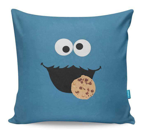 Cookie Monster Cushion Cover
