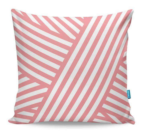 Coral Bandaids Cushion Cover