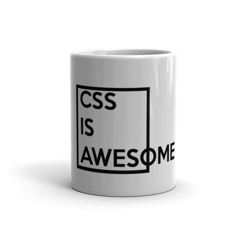 CSS Is Awesome Coffee Mug